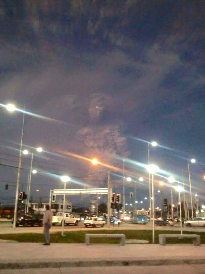 Picture of Chile volcano ash giant humanoid
