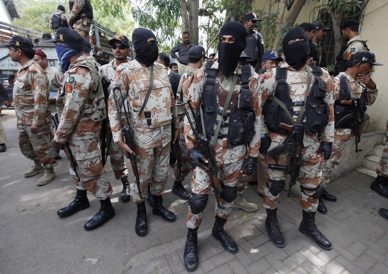 Pakistan Karachi operation
