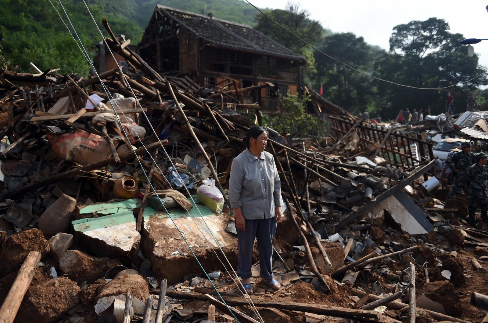 China earthquake 2014