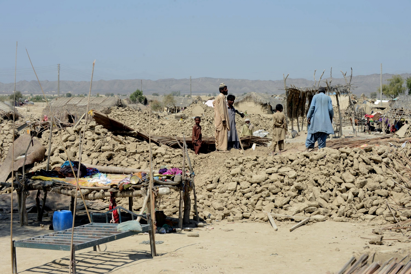 Pakistan earthquake 2013