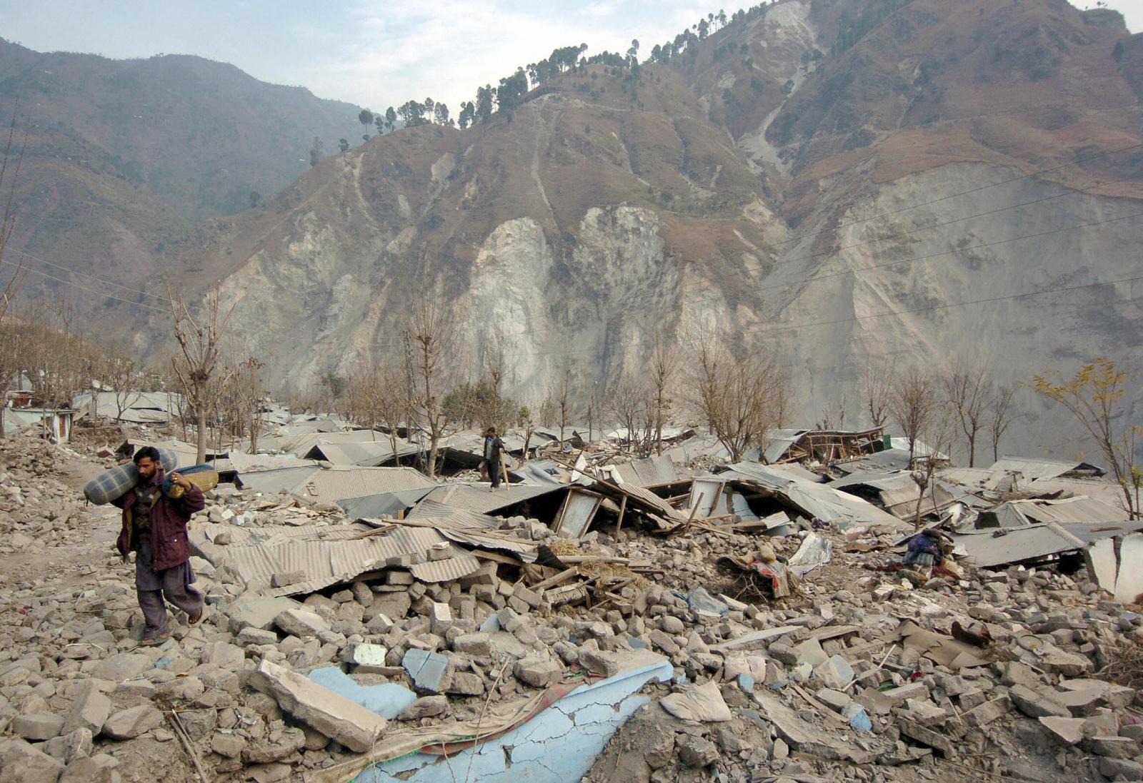 Pakistan earthquake 2005