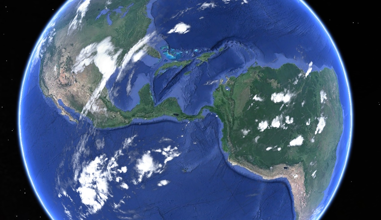 isthmus of panama land linking north and south america formed