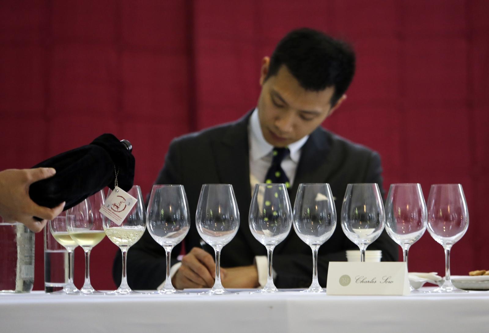 Chinese wine economy