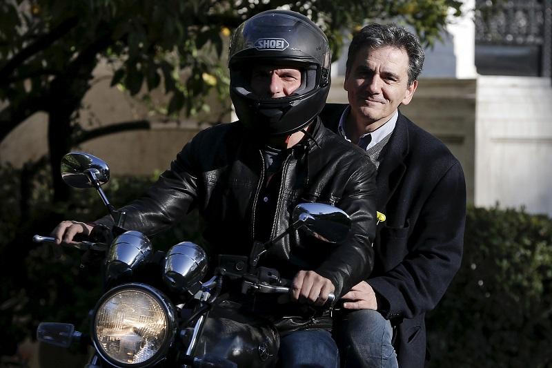 Yanis Varoufakis and Euclid Tsakalos