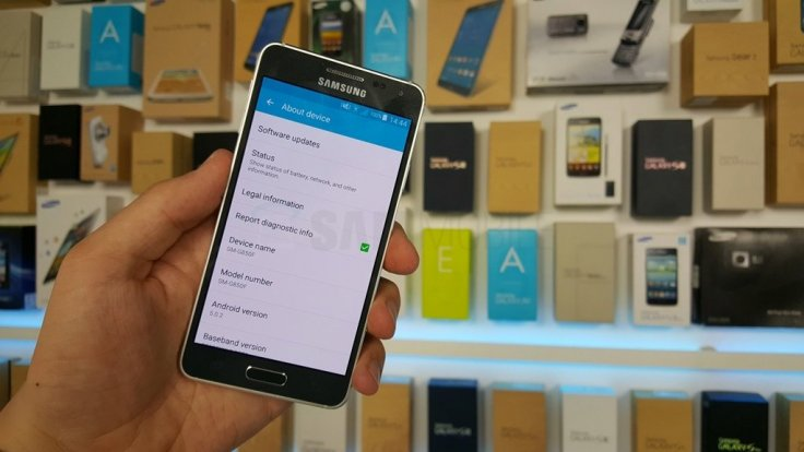 Galaxy Alpha (SM-G850S) gets Android 5 0 2 Lollipop OTA: How to