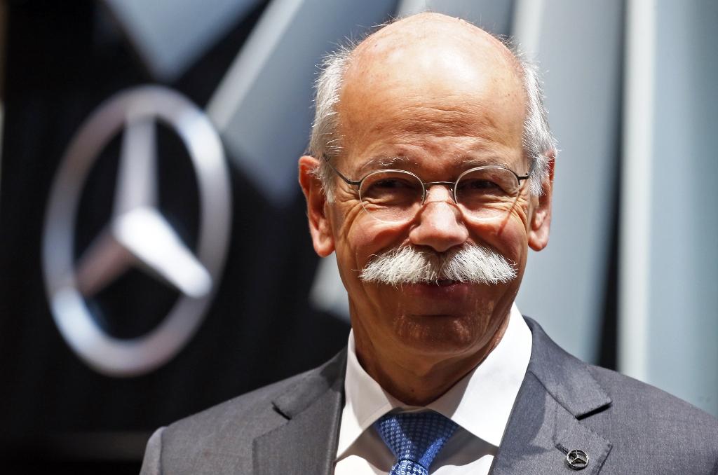 Daimler Boss Dieter Zetsche