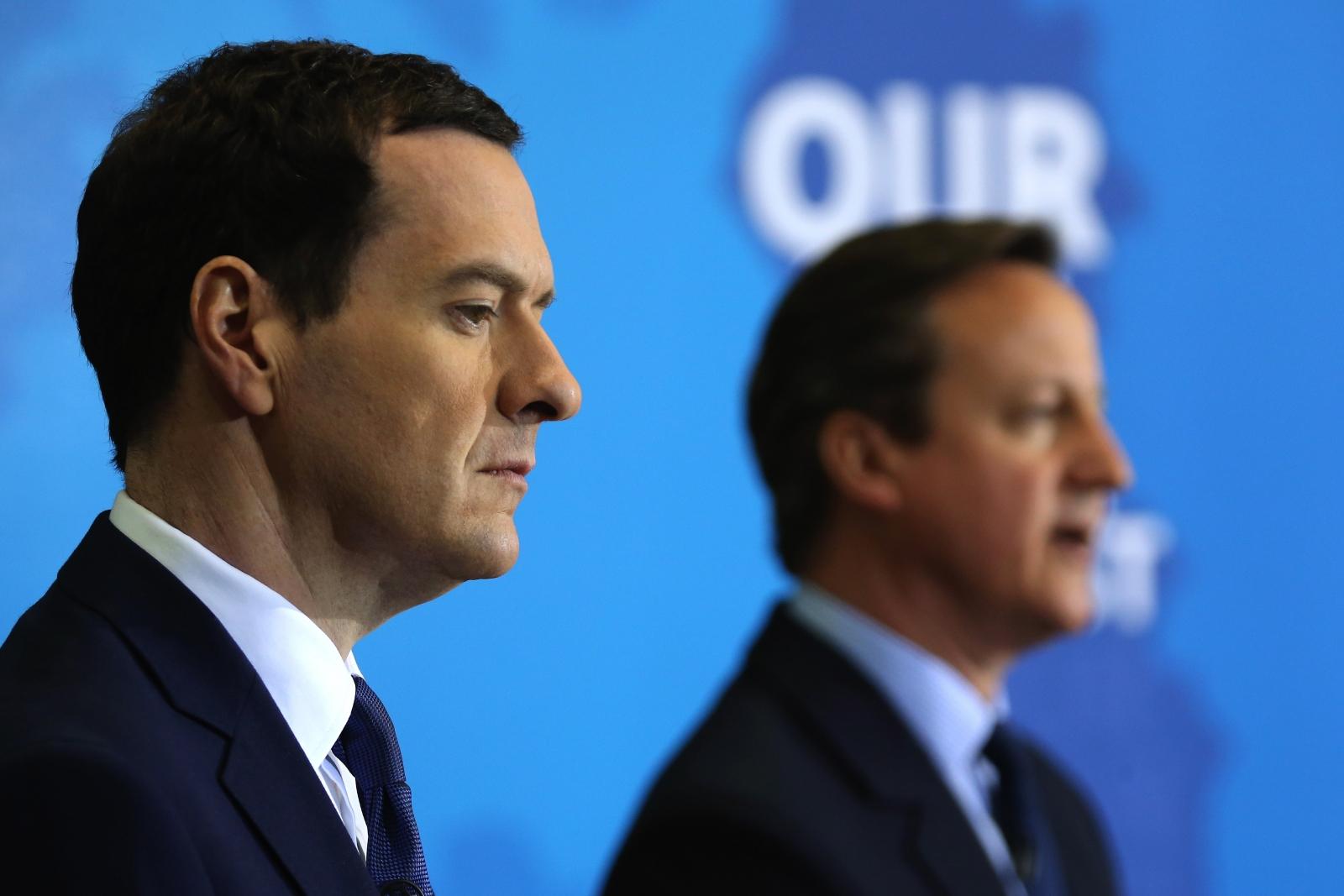 George Osborne and David Cameron