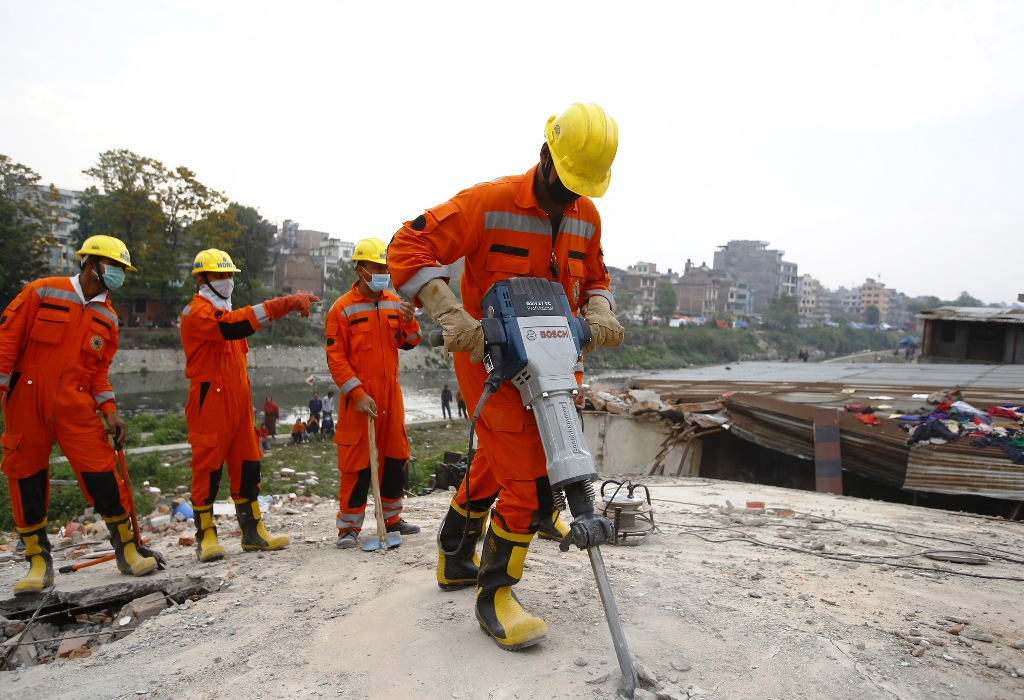 India's NDRF in Nepal