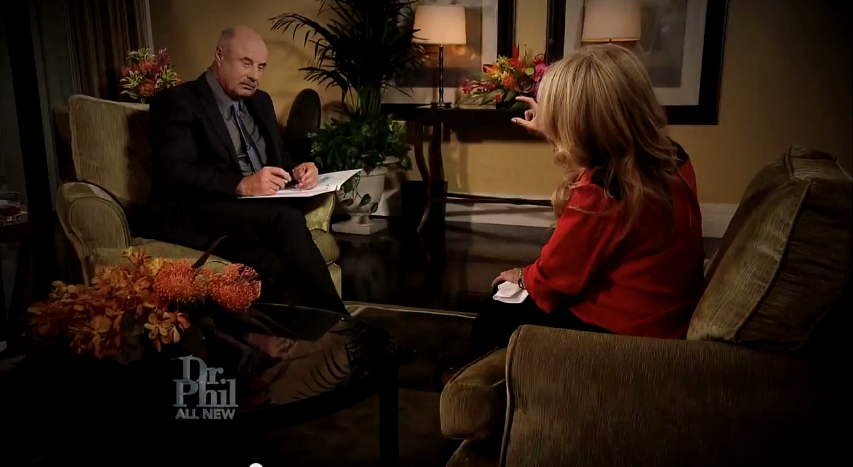 KIm Richards Dr Phil Interview live