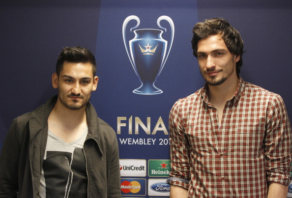 Mats Hummels and Ilkay Gundogan