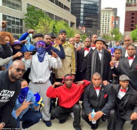 Baltimore riots: Bloods and Crips gangs reject claims of ...