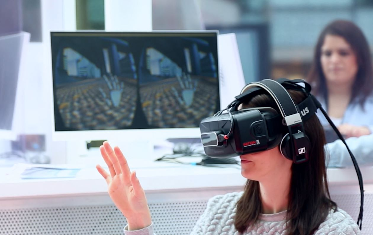 Virtual reality with Oculus Rift
