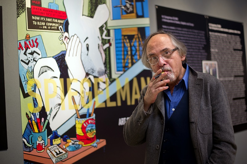 Art Spiegelman and his graphic novels