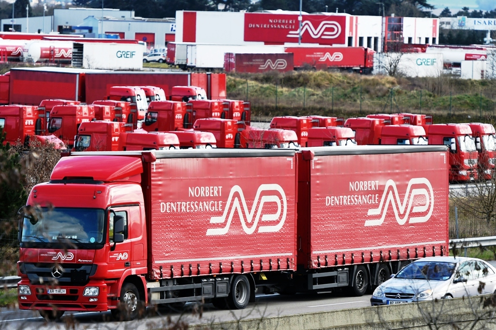 Norbert Dentressangle Trucks