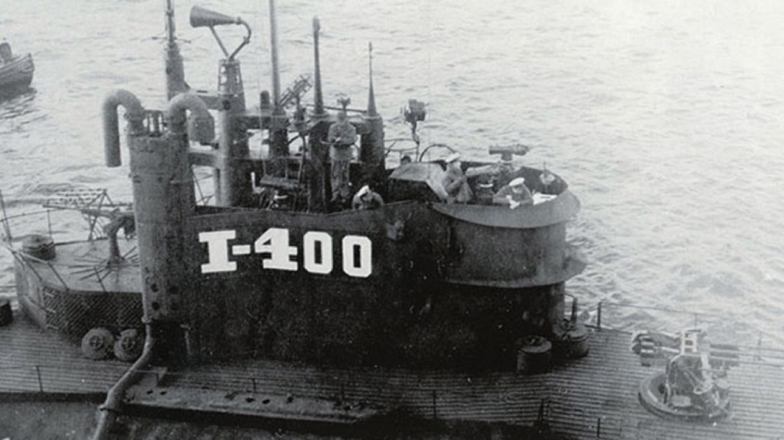 Imperial Japanese Navy mega-submarine I-400