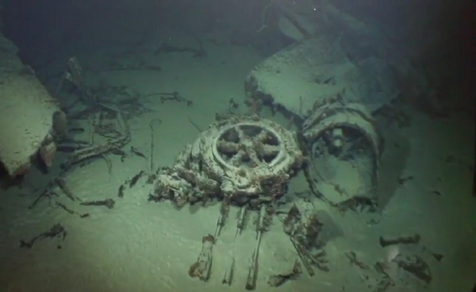 WWII-era Imperial Japanese Navy mega-submarine