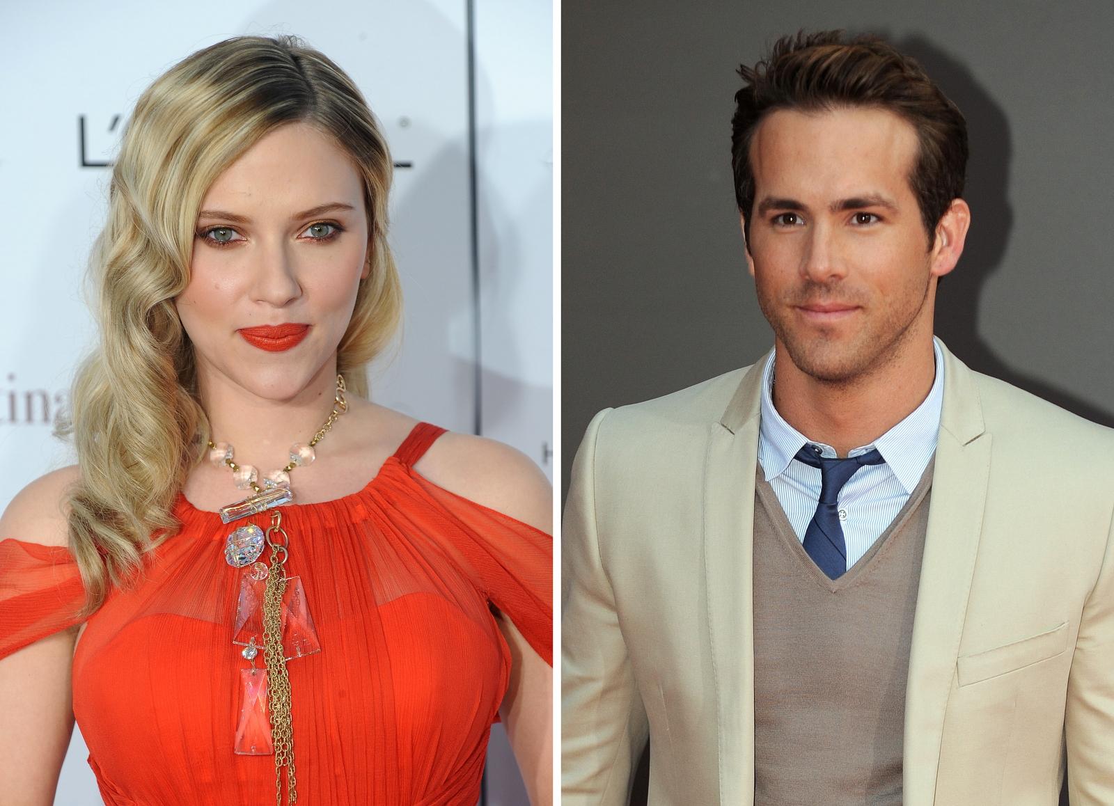 Ryan Reynolds Scarlett Johansson Hochzeit