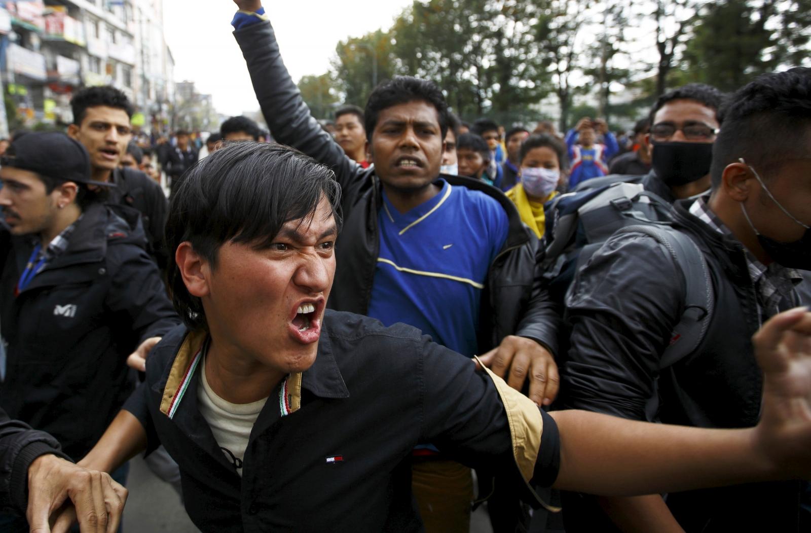 Nepal demonstrations