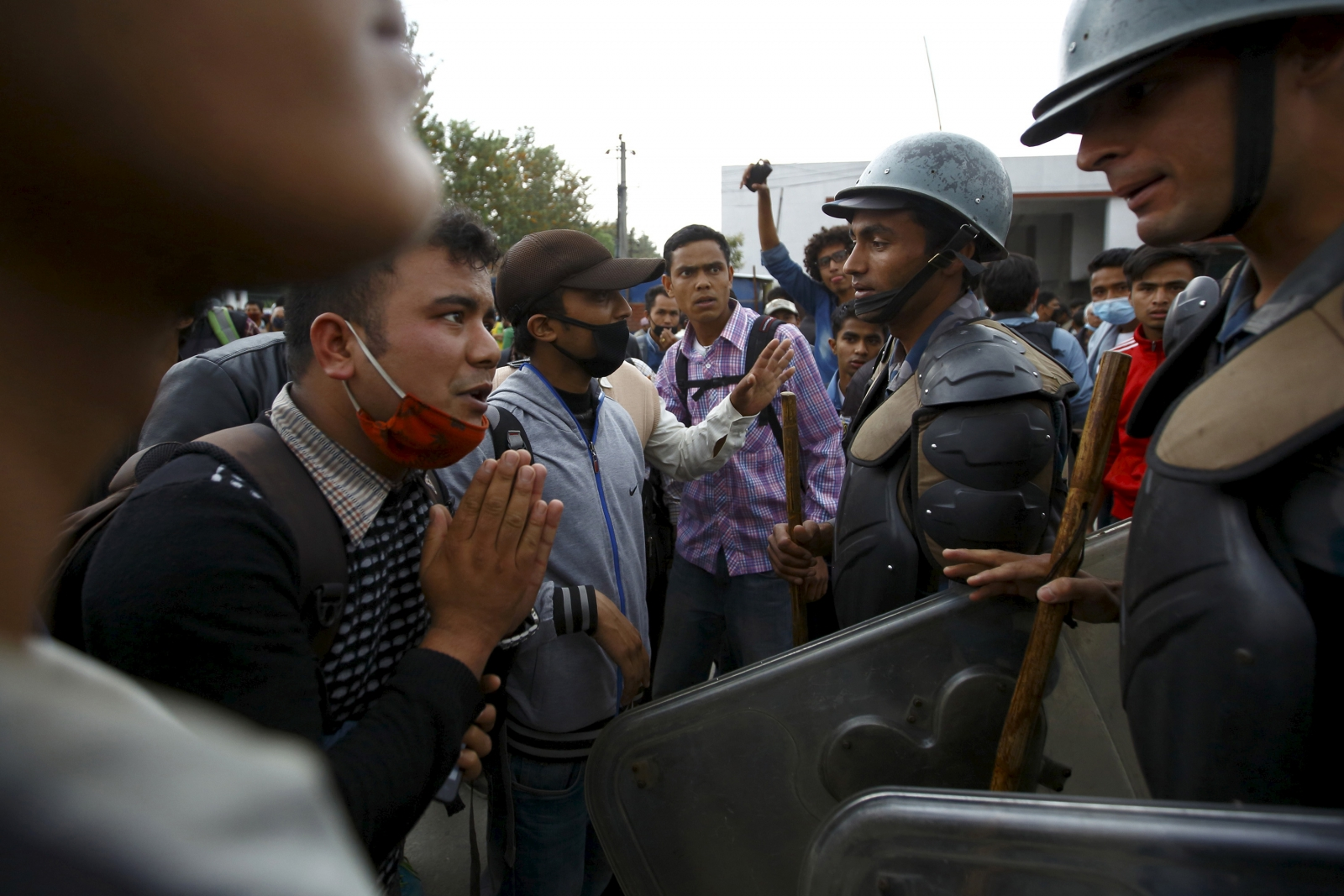 Nepal demonstrations protests