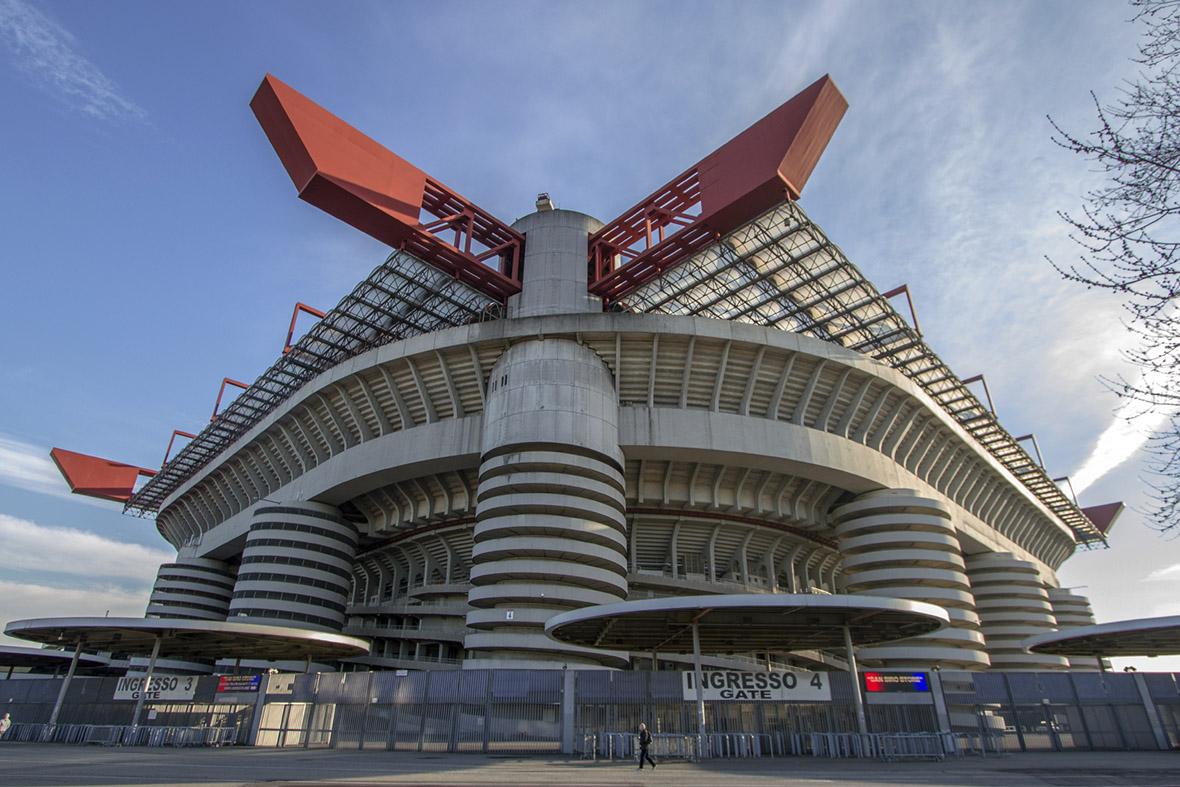 Milan's San Siro football stadium