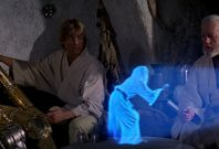 Star Wars hologram