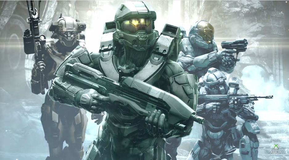 Halo 5 Guardians cover artwork reveals Blue Team & possible 4-player