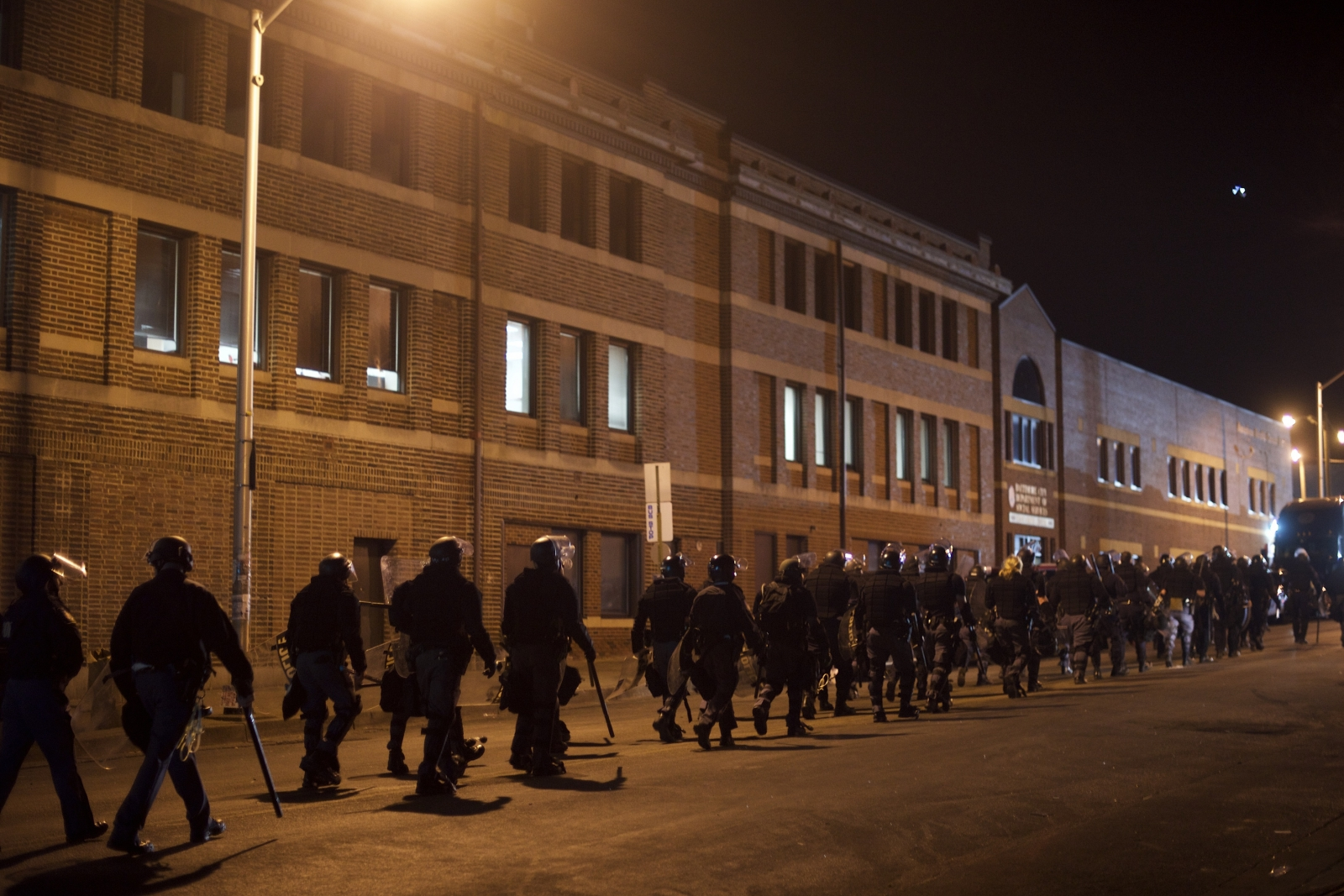 National Guards deployed in Baltimore