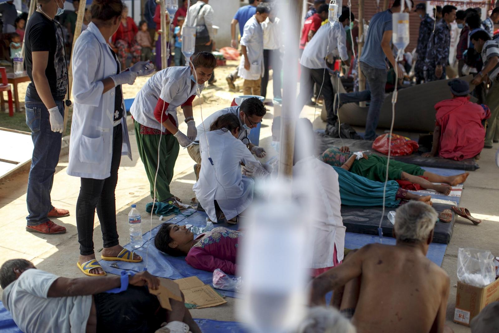 Nepal field hospital