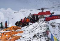 Mount Everest evacuation
