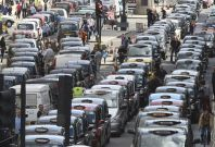 Taxis may be banned from London