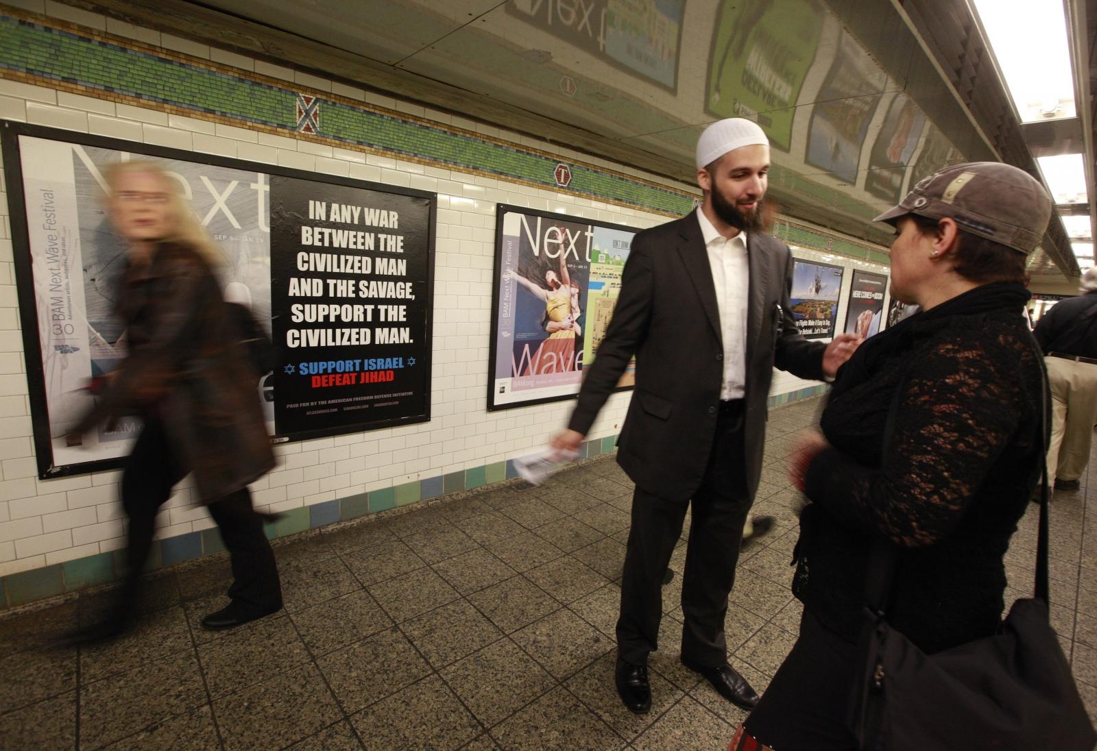 MTA adverts