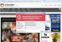 xhamster porn cyber attack malware