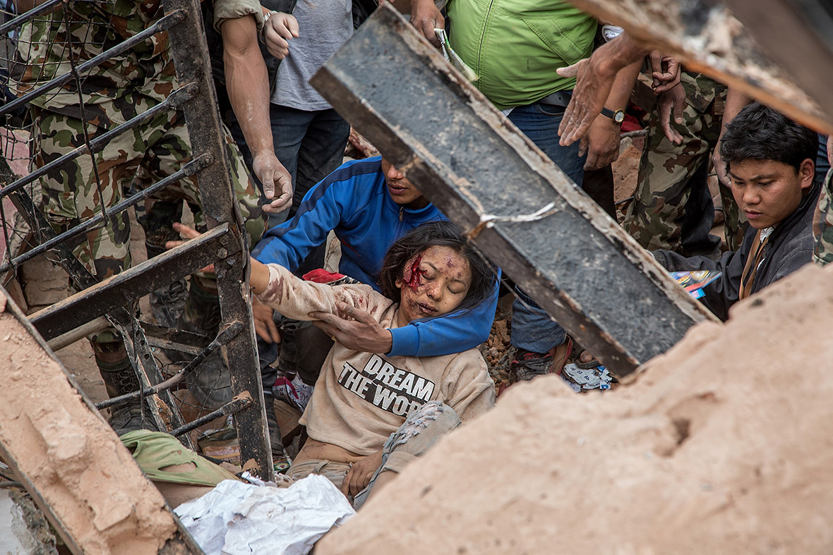 Nepal earthquake rescue