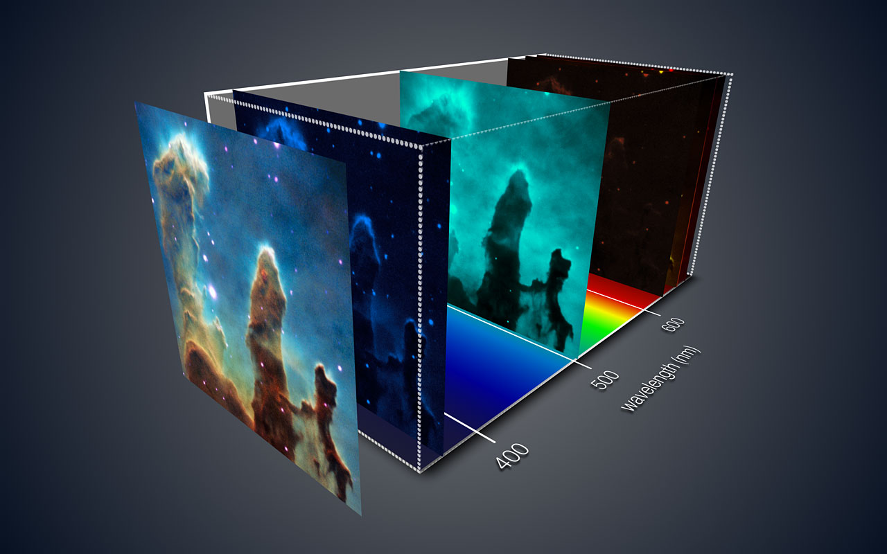 pillars of creation in 3d