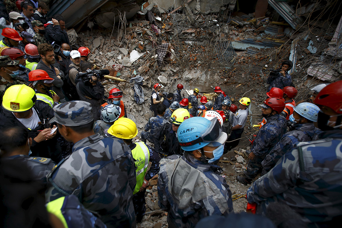 Nepal earthquake rescue