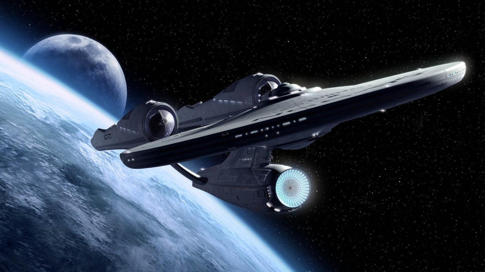 Star Trek Enterprise uses warp drive