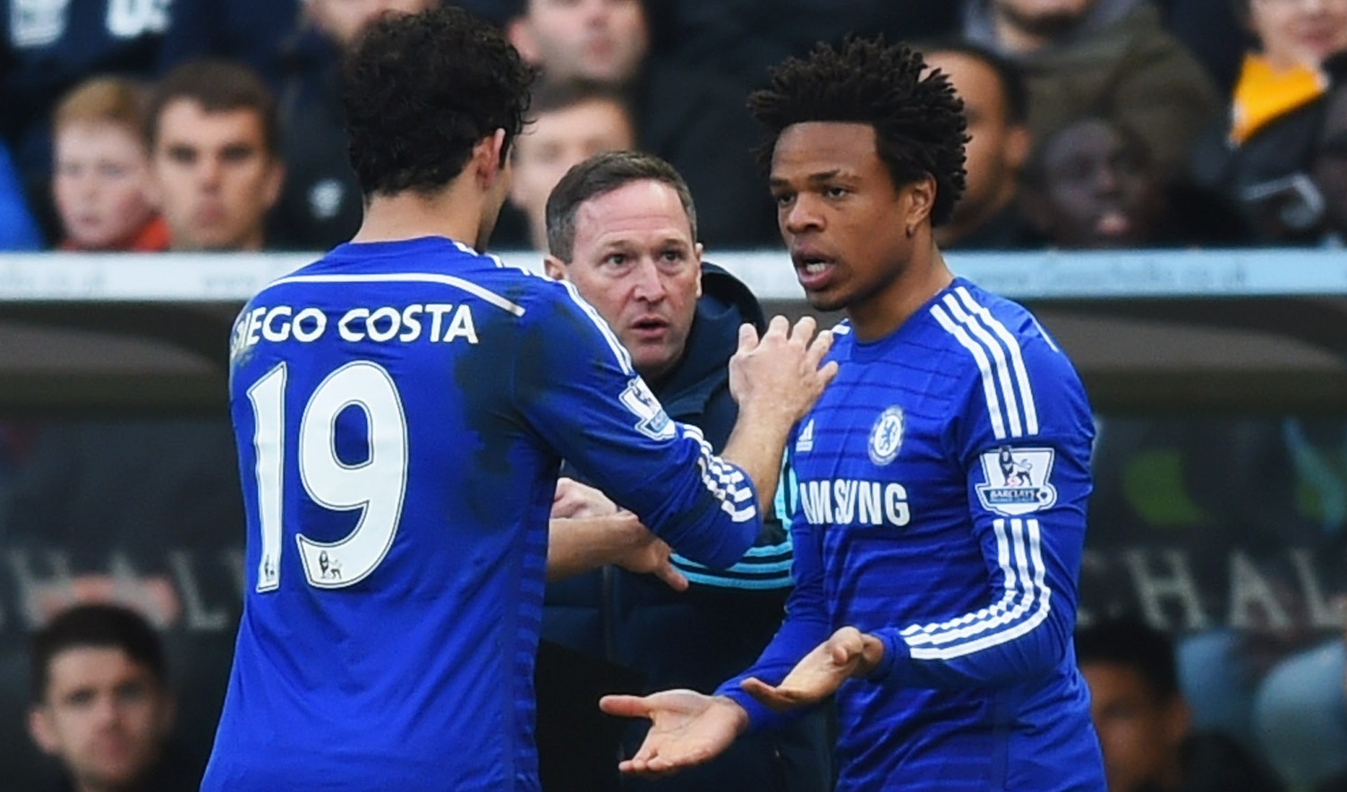 Diego Costa and Loic Remy
