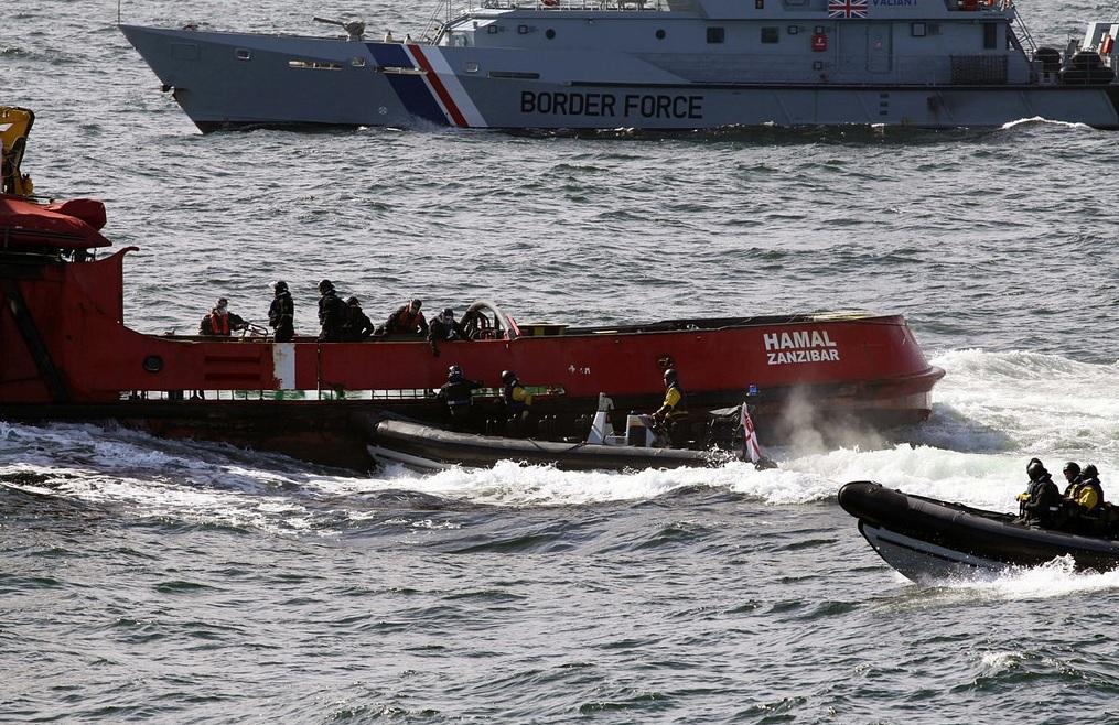 North Sea cocaine haul