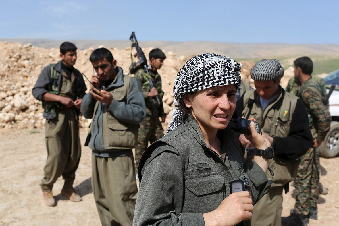 Image result for photos of women kurdish fighters
