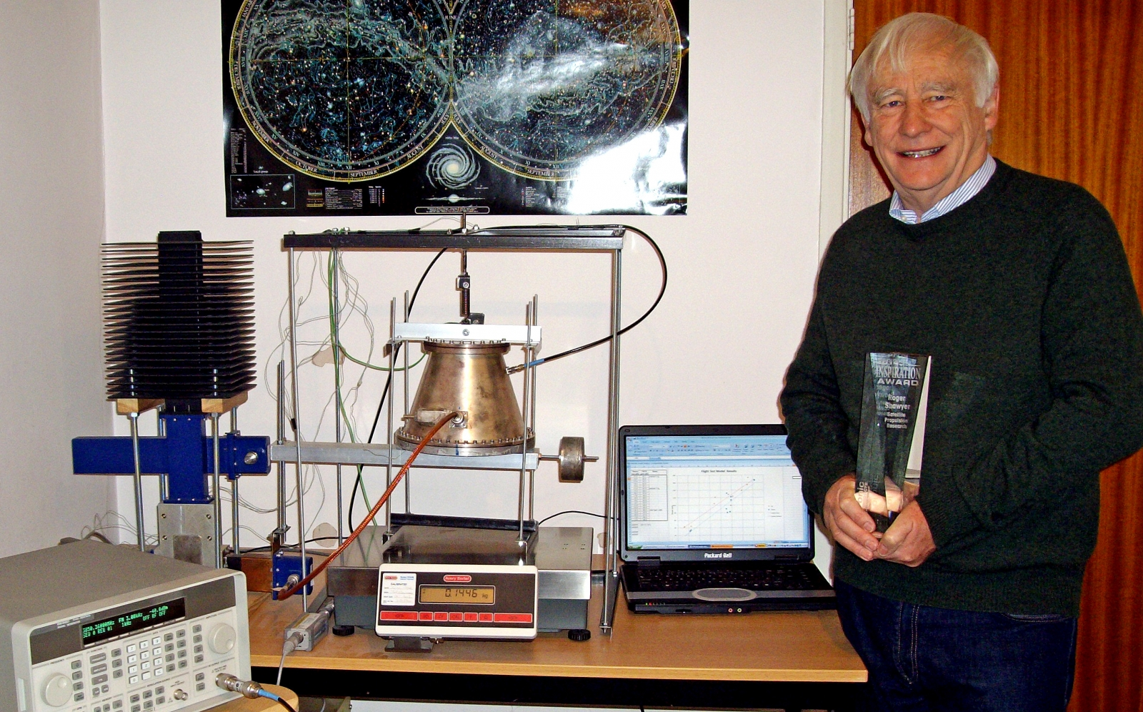 Roger Shawyer, inventor of the EmDrive