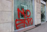 No Expo protest in Milan