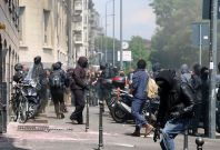 No Expo Protesters clash with Police