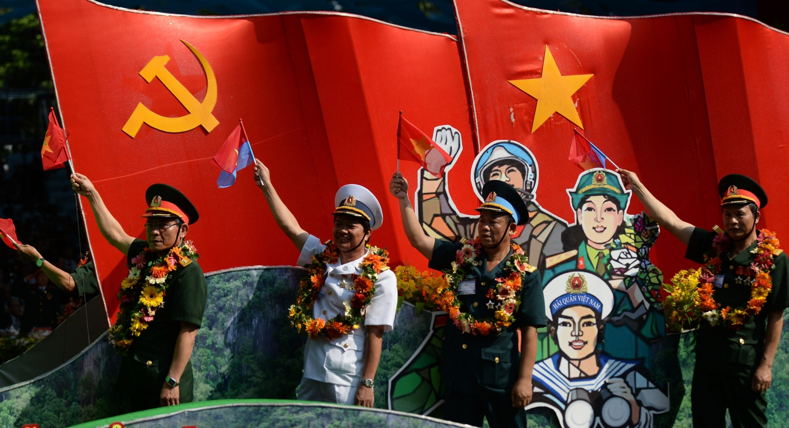 Vietnam rally