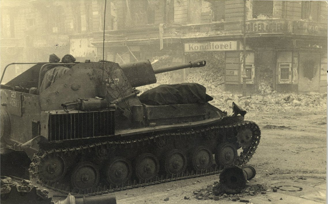 berlin 1945 and 2015