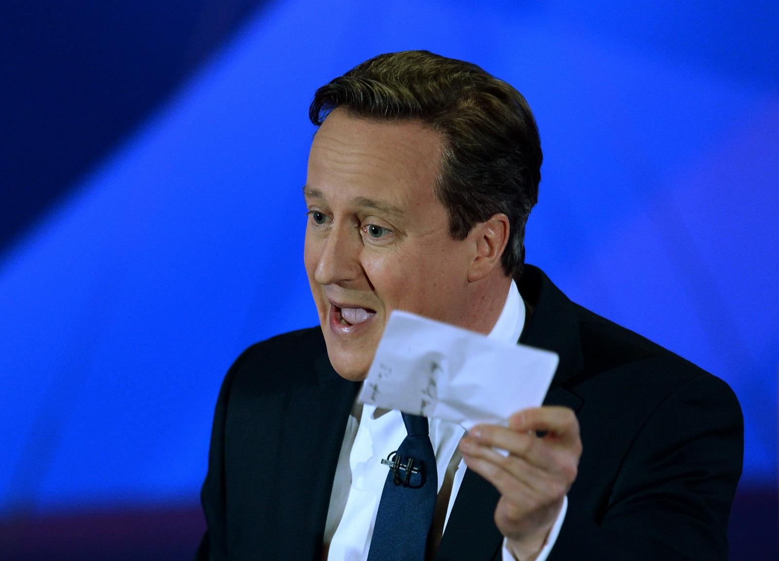 David Cameron Conservative