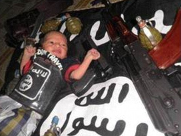 Isis use babies for propaganda