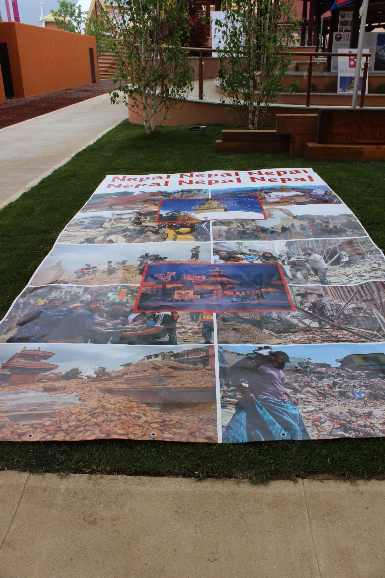 Expo 2015 Nepal pavilion