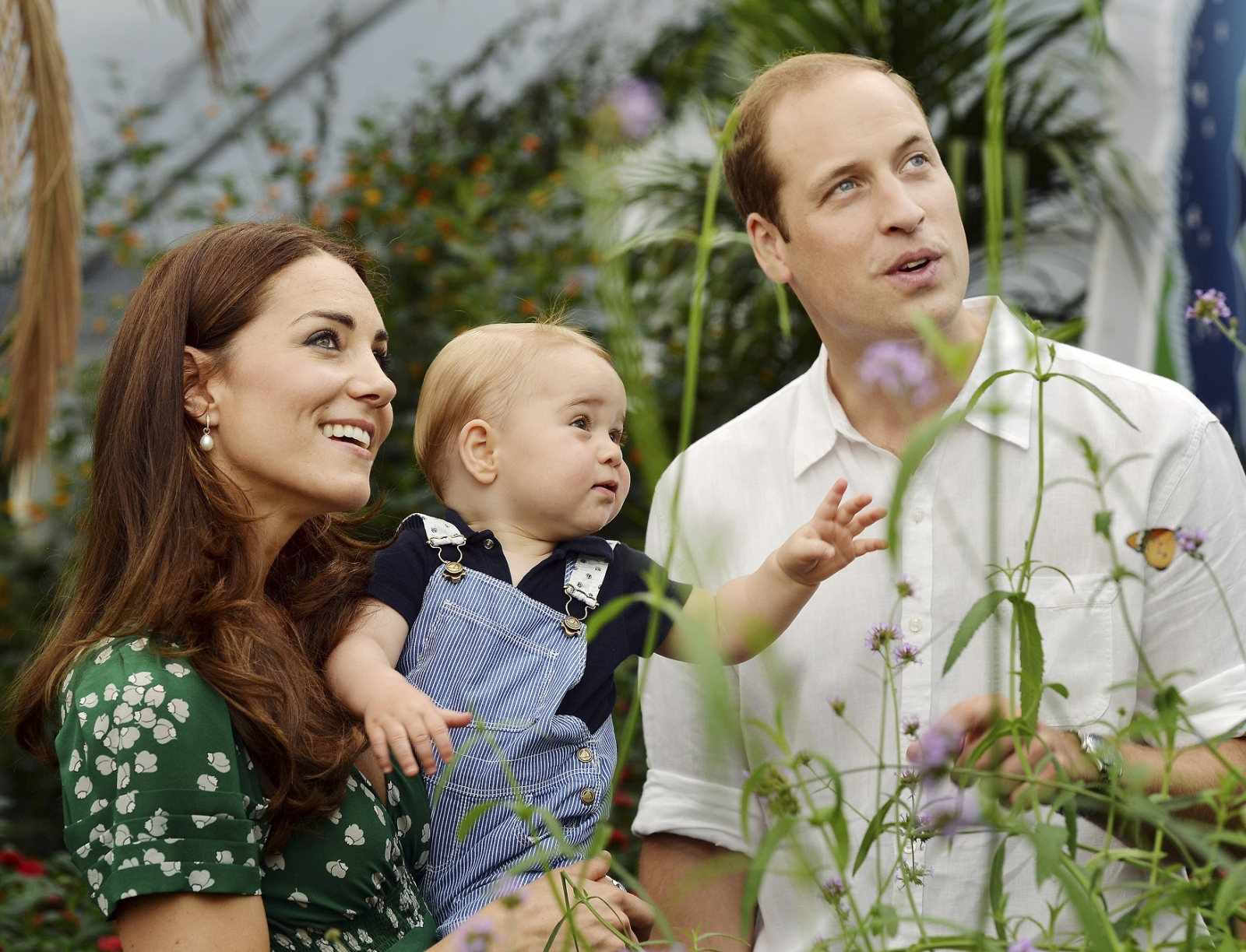 Duke and Duchess with Prince George