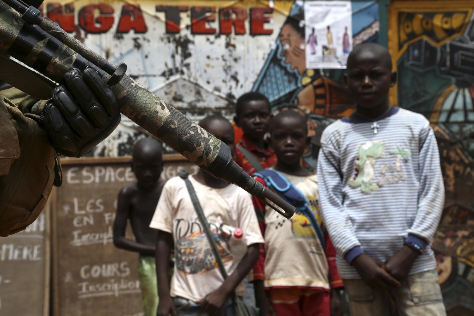 CAR children UN mission