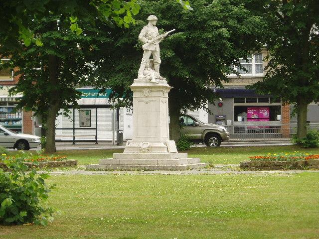 Warlingham war memorial, Surrey
